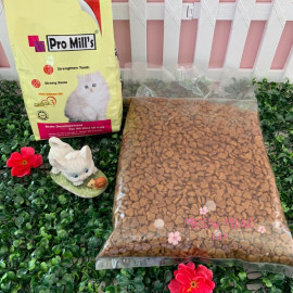 image of Pro Mill's Cat Food With Salmon Oil 1kg Repack