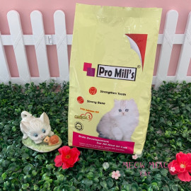 image of Pro Mill's Cat Food With Salmon Oil 500g / Skin & Coat / Strong Growth