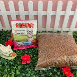 image of Greens Hair & Skin Cat Food 1kg Repack