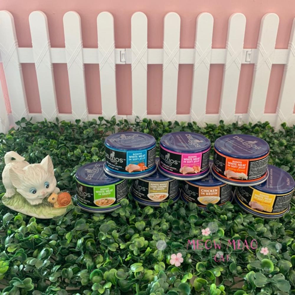 ProDiet Delizos Wet Cat Food 80g X 3 Cans