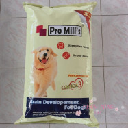 image of Pro Mill's Dog Food With Salmon Oil 10 Kg/ Skin & Coats/ Strong Bone & Teeth