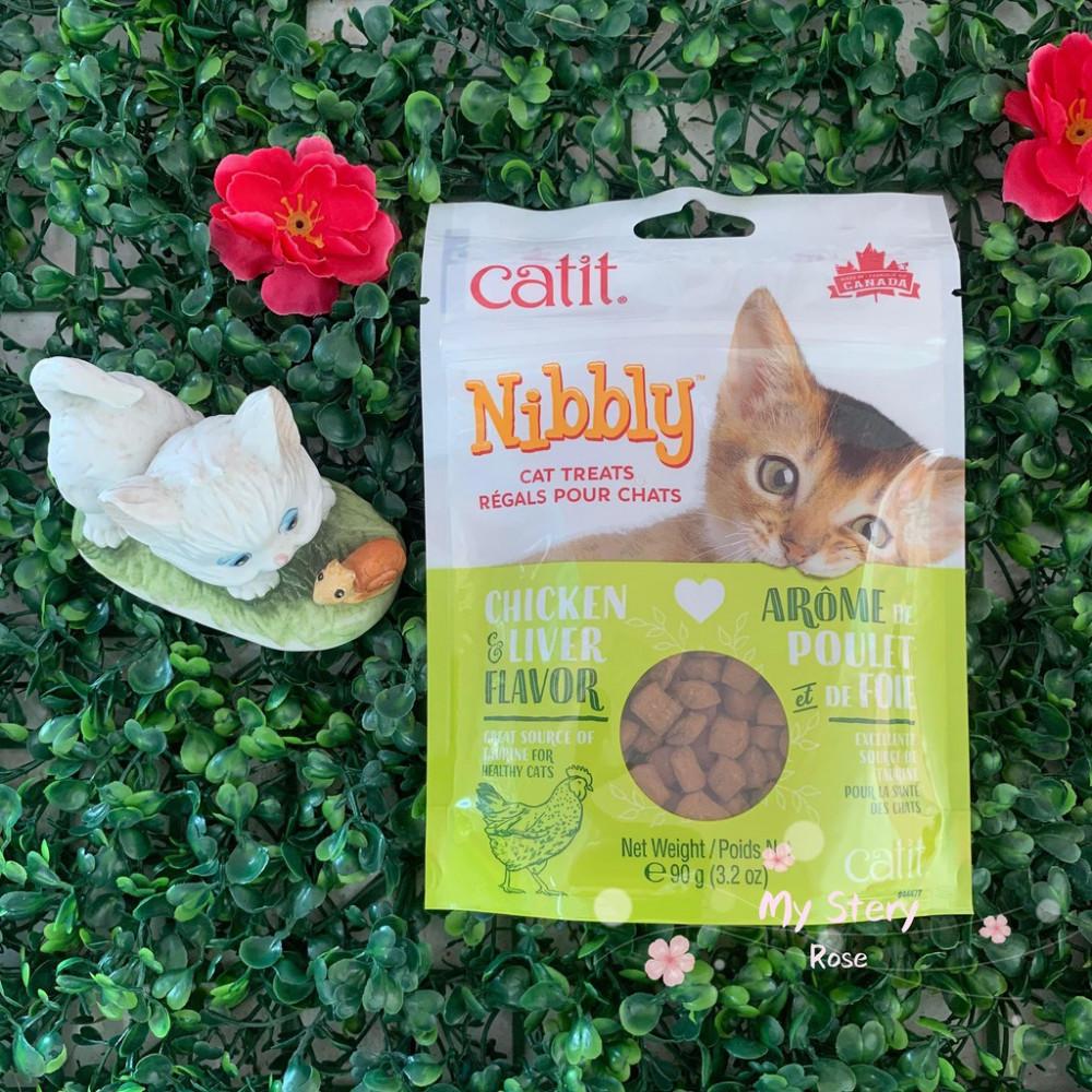 Catit Nibbly Treats Chicken & Liver 90g / For Training
