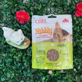 image of Catit Nibbly Treats Chicken & Liver 90g / For Training