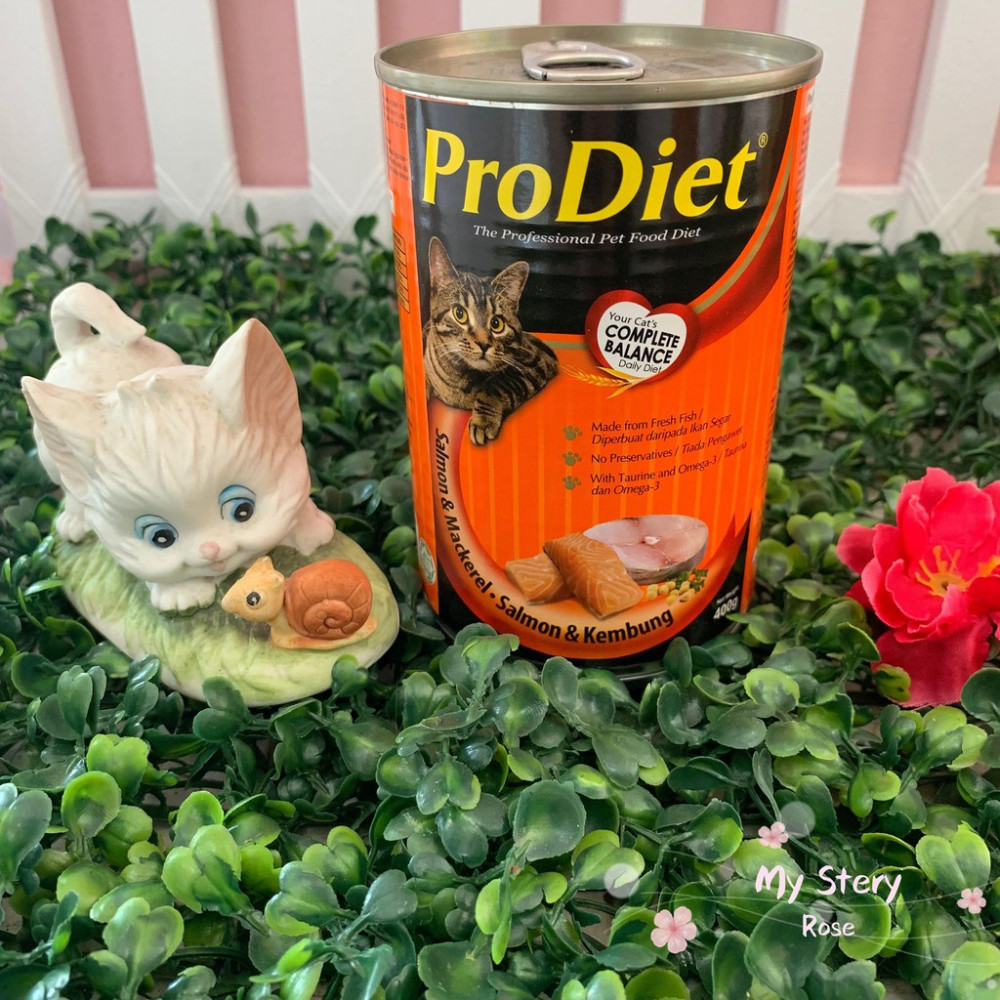 ProDiet Salmon & Mackerel Cat Canned Food 400g