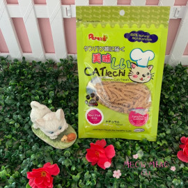 image of Pepets Catiechi Mini Fish Strip Cat Snack
