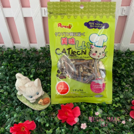 image of Pepets Catiechi Dry Sunfish Cat Snack