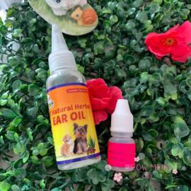 image of SST Natural Herbal Ear Oil For Pet 5ml Repack / EarMite / Anti Fungus
