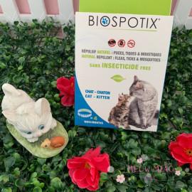 image of Biospotix Repellent Collar 35cm 4 Months (Sans INSECTICIDE Free)