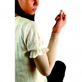 image of Semlouis Aurat Sarung Lengan Berenda Extra Tebal - Lace