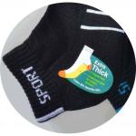 Semlouis 4 In 1 Sport Ankle Cotton Base Socks - 6 Lines Pattern