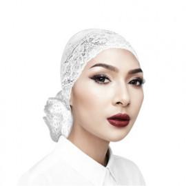 image of Semlouis Inner Anak Tudung Lace Bersanggul Bunga