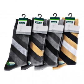 image of Semlouis Men's 4 In 1 Quarter Crew Socks - Arrow Design