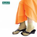 Semlouis 3 In 1 Aurat Sarung Kaki Solat Paras Ankle