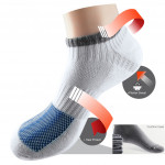 Semlouis 3 In 1 Sport Ankle Socks - Line & Square Basic Design