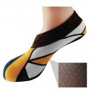 image of Semlouis Aurat Sarung Kaki Tawaf Anti-Slip Tebal Paras Ankle - Bercorak Klasik