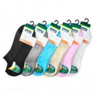 image of Semlouis 4 In 1 Sport Low Cut Cushion Base Extra Thick Socks - Plain