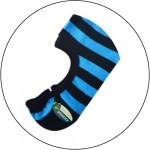 Semlouis 3 In 1 Men's Low Cut Socks - Stripes