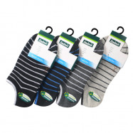 image of Semlouis 4 In 1 Sport Low Cut Socks - 11 Stripes