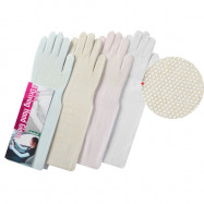 image of Semlouis 2 In 1 Sun Sleeve Ladies - Plain With Stopper- Full Finger Cover