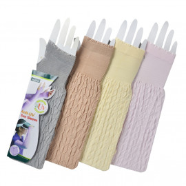 image of Semlouis 2 In 1 Sun Sleeve Ladies - Fashion Sun Sleeve