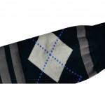 Semlouis 2 In 1 Sport Compression Arm Sleeve Men (Thick) - ArgylePattern