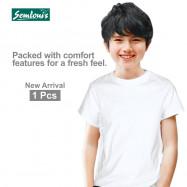 image of Semlouis Kid's Boy Singlet & Camisole Inner Wear With Sleeve