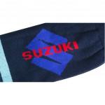 Semlouis Men's 2 In 1 Sport Compression Arm Sleeve Thick - Suzuki