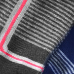 Semlouis 4 In 1 Sport Ankle Socks - Thin Stripes