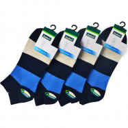 image of Semlouis 4 In 1 Sport Ankle High Socks - 4 Stripes