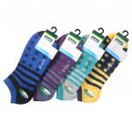 Semlouis 4 In 1 Sport Low Cut Socks - Stars & Stripes