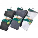 Semlouis 6 In 1 Sport Quarter Crew Cushion Base Socks - Plain