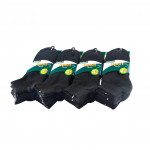 Semlouis 6 In 1 Sport Ankle Cushion Base Socks - Black