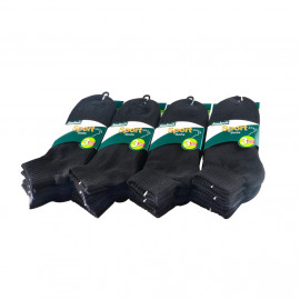 image of Semlouis 6 In 1 Sport Ankle Cushion Base Socks - Black