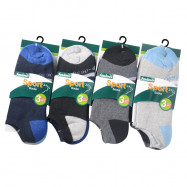 image of Semlouis 6 In 1 Sport Low Cut Cushion Base Socks - Basic Design