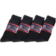 image of Semlouis 6 In 1 Sport Quarter Crew Cushion Base Socks - Black