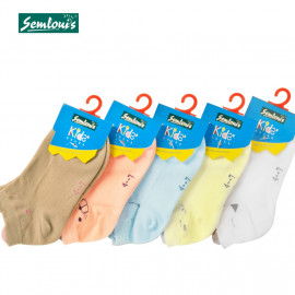 image of Semlouis Children Ankle Socks - 3D Animals' Ears