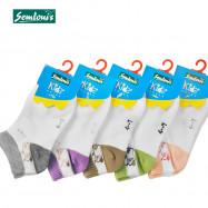 image of Semlouis Children Ankle Socks - Snail