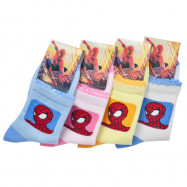 image of Semlouis Children Ankle Socks - Spiderman