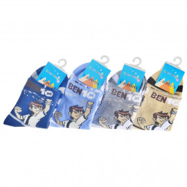 image of Semlouis Children Ankle Socks - Ben 10 (Half Body)
