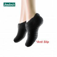 image of Semlouis 4 In 1 Sarung Kaki Anti Slip Tawaf Paras Ankle - Plain