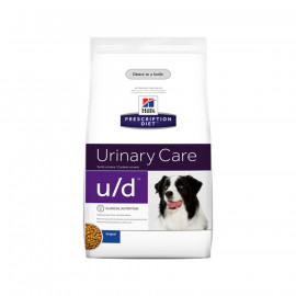 image of Urinary Care U/D Nutrition Food For Dogs 3.86kg/Makanan Anjing