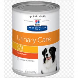 image of •Hill's® Prescription Diet® C/D® Multicare Canine Chicken & Vegetable 354g X 12