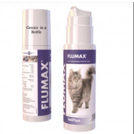 image of READY STOCK ! VetPlus Flumax For Cats 150ml / Flu Avoidance / One Bottle