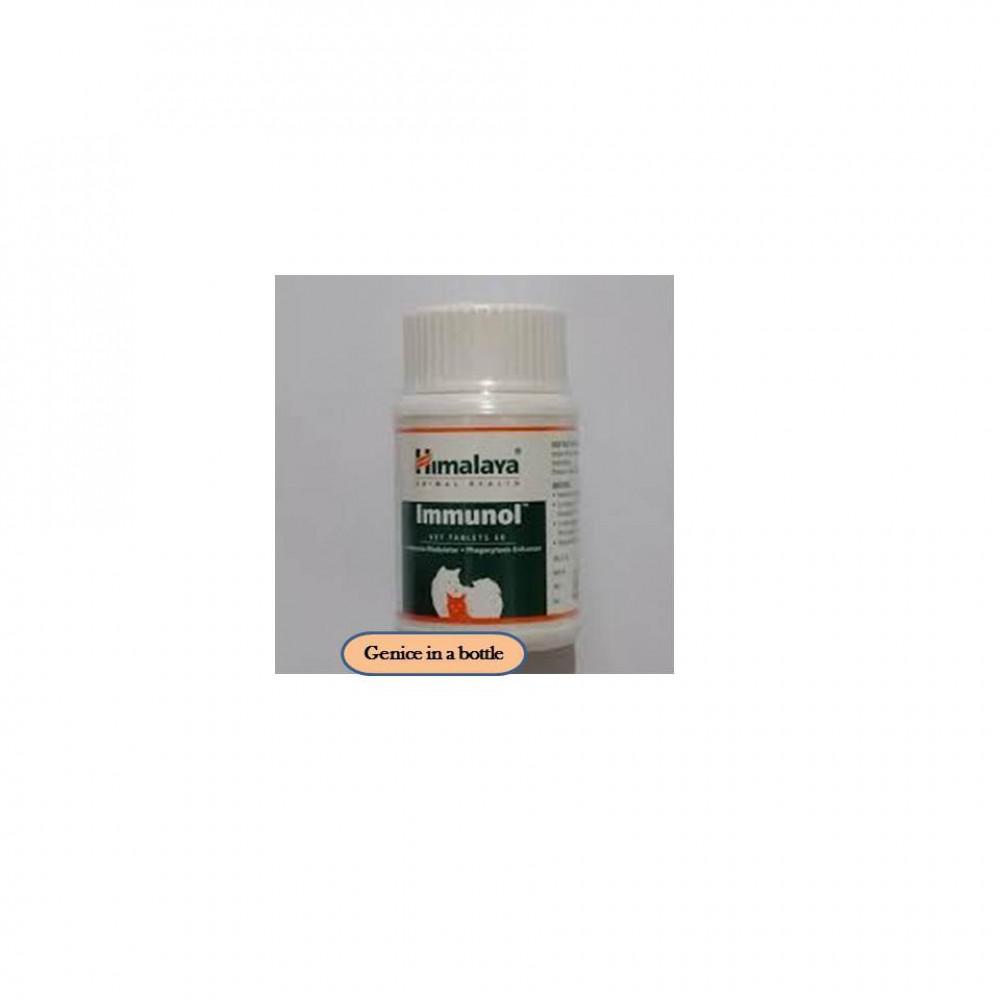 Himalaya Immunol Tablets 60 Tabs For Cats/ Dogs /Menguatkan Sistem Imun.