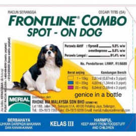 image of PROMOTION!! Frontline COMBO Spot On Dog (S)/Ubat Serangga Anjing