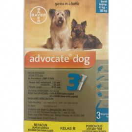 image of Bayer Advocate Spot On For Dogs 4 To 10 Kg ( Buy 5 Free MUG )