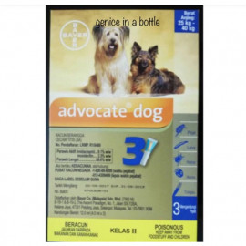 image of Advocate Extra Large Dog 25-40KG/ Fleas Control (3 X 4ml )Buy 5 Free MUG