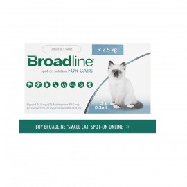 image of Broadline Spot On Solution For Small Cats/Control Flea One Box