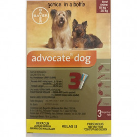 image of ADVOCATE FOR DOG (L) - 3x2.5ML ( Buy 5 Free MUG)