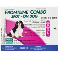 image of PROMOTION!! Frontline Combo Spot On Dog 1 Box (3x 0.5ml)